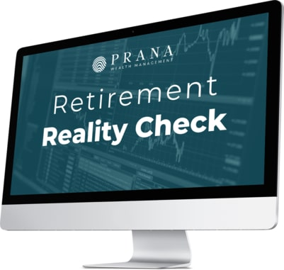 Mac Screen with Retirement Reality Check Assessment - Prana Wealth